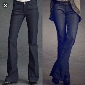 CAbi Farrah flare dark wash jeans 4